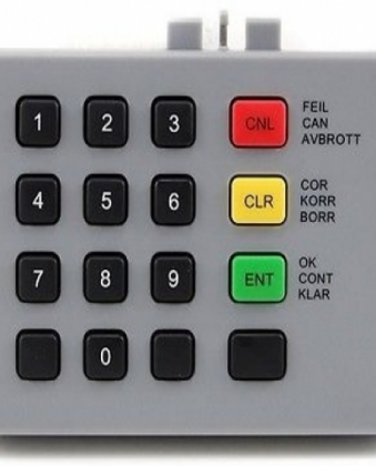 NCR 66XX FRONT SERVICE KEYBOARD